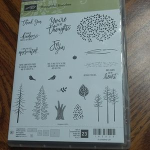 Stampin' Up Thoughtful Branches Set